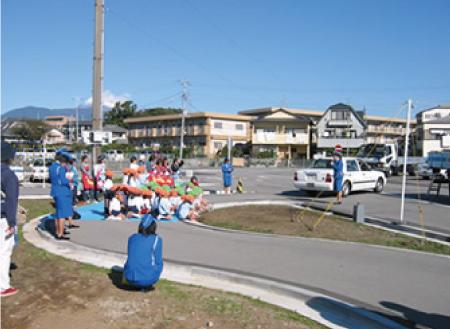 幼稚園向け交通安全教室